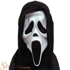 brille dans le noir Criant vampire fantôme démon à capuche