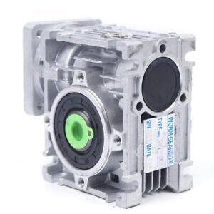 Worm Gear Speed Reducer Reduction Gearbox 30:1 Gear Box/Servo/Stepper Motor US