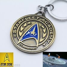 Star Trek Academy Metal Key chain Antique Bronze color Collectible gift decor