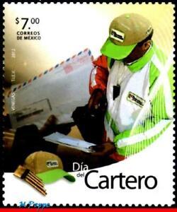 2804 Mexico 2012 - POSTMAN'S DAY, POST, MNH