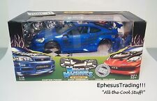Muscle Machines Tuner 2002 02 Acura RSX Tuner Coupe Blue Kit 71198 1/18 NEW MINT