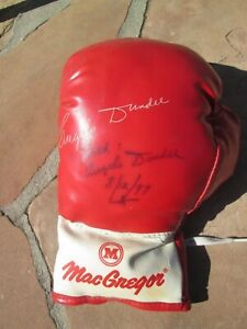 MUHAMMAD ALI  Trainer ANGELO DUNDEE Endorsed Signed Vintage Boxing Glove