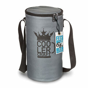 Cooler Craft 64oz Beer Growler Carrier - Free Shipping