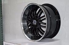 4 GWG Wheels 20 inch STAGGERED Black AMAYA Rims fit 5x120 ET38/42 BMW 3 SERIES