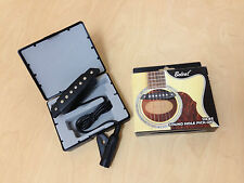 Belcat SH-85 Soundhole Pickup with Active Power Jack for Acoustic Guitar