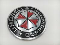 Metal UMBRELLA CORPORATION Car Emblem Decal Badge Auto Body Sticker Motorcycle