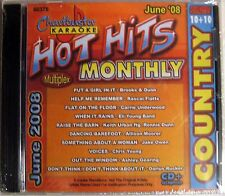 Chartbuster Karaoke - CB60375 CDG    (June 2008)    !!!  SALE !!!
