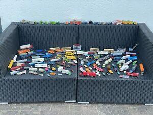 Ca.129 Wiking LKW/PKW Sammlung 1:87 H0 Mb,Post,Ford, Büssing,Sattelzug,Tieflader