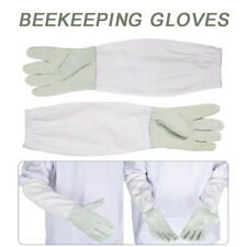 Goatskin Beekeeping Supply Gloves With Vented Long Sleeves For Beekeeper 50cm J
