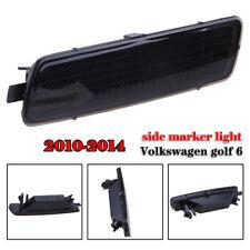 Smoke Lens Right Side Marker Lights Housing For Volkswagen VW MK6 2010-2014