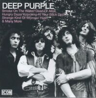 DEEP PURPLE - ICON CD ~ GREATEST HITS~BEST OF ~ RITCHIE BLACKMORE 70's *NEW*