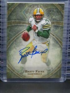 2014 Topps Five Star Brett Favre Auto Autograph Packers Y602