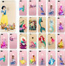 Cute Disney Princess Character TPU Soft Case Cover For iPhone 5 5s 6/6s Plus 7