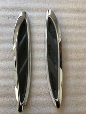2013-2016 oem buick enclave hood molding trim left and right 23142430- 23142431