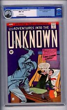 CGC (ACG COMICS) ADVENTURES INTO THE UNKNOWN #170 NM+9.6 PACIFIC COPY OW