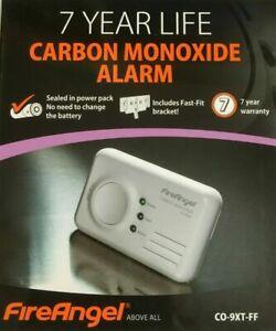 NEW FireAngel CO-9XT-FF 7 Year SEPT 2028 Carbon Monoxide Detector Alarm CO-9X