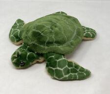"K&M International Turtle Hand Puppet 14"" Plush Soft Toy Stuffed Animal"