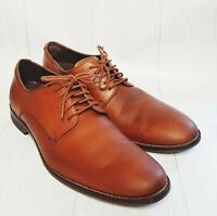 COLE HAAN Shoes Mens Size 10M Brown Leather 5 eyed  Lace-up Oxfords  C11432