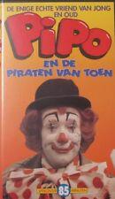 PIPO EN DE PIRATEN VAN TOEN - VHS (KIDSTUFF)