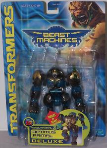 Transformers Beast Machines Optimus Primal Deluxe Heroic Maximal Hasbro 1999.