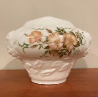 Antique GWTW Parlor Lamp Milk Glass Base Shade/Globe,Hand Painted Country Roses