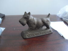 Antique Cast Iron Dog Figurine Hamilton Foundry