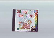 Sentado en la granja-educativo Aventura Juego de PC-rápido post-Nuevo y Sellado