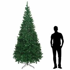 vidaXL Artificial Christmas Tree XL 300cm Green Holiday Decoration Ornament