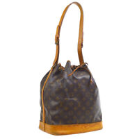 LOUIS VUITTON NOE DRAWSTRING SHOULDER BAG AR1912 PURSE MONOGRAM M42224 31607
