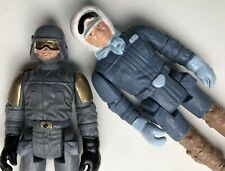 2 Vintage Star Wars Polish Bootleg Action Figures Han Solo Hoth & At-St Driver