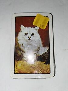 Vintage Cat Playing Cards Deck, Best Quality