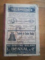 ANNUAIRE OFFICIEL des Abonnés Réseaux Téléphoniques Marseille 1931 régionalisme