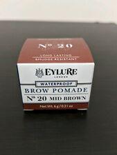 Eylure London Brow Pomade Mid Brown 20 Smudge Resistant Long Lasting Waterproof