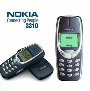 New Condition NOKIA 3310 BLUE (UNLOCKED) MOBILE PHONE -1 YEAR WARRANTY-FREE POST