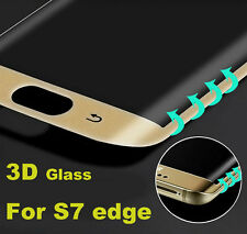 Full Curved 3d Tempered Glass LCD Screen Protector Samsung Galaxy S7 Edge