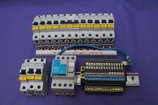 Konvolut Sicherung B 16 20 40 A FI 30 mA 12 x 16 Automat Moeller  #439