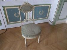 Exceptionnelle chaise ancienne de château Louis XVI avec possibilité d'une paire
