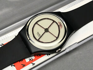 SWATCH UHR ** GZ120 - WHEEL ANIMAL - GENT ARTIST ** NEU !