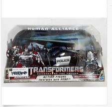 TRANSFORMERS Barricade Decepticon Frenzy HUMAN ALLIANCE RD-24 ROBOT FIGURE TOY