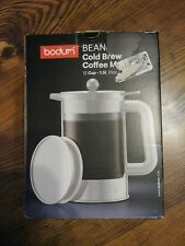 Modern Professional Coffee Lover Bodum Bean Cold Brew Coffee Maker 12 Cup White