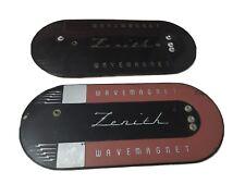 "Pair of Vintage Zenith Tube Radio ""Wave Magnet"" Wavemagnet"