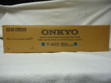 Onkyo T-403 Synthesized Am/Fm Stereo Tuner mint in the box