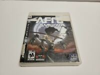 Afro Samurai (Sony PlayStation 3, 2009) PS3 TESTED Fast Shipping