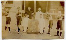 Shotley Barracks Royal Navy Boxing & Wrestling Championships  Photo  Postcard
