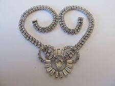 Stunning High End Rhinstone Choker Style KRAMER OF NEW YORK Necklace