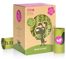 Earth Rated pack de 270 bolsas para recoger excrementos perro olor a lavanda