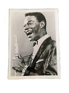 """Nat King Cole Autographed Photograph 7""""x5"""""""