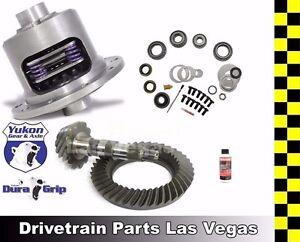 Yukon Duragrip 08-14 for Nissan Titan Rear Posi LSD 3.54 Ratio Ring Pinion M KIt