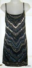 £295 Size 14 All Saints Erodes Sequin/Embellished/Beaded Dress BNWT