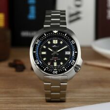 HEIMDALLR Mens Vintage Mechanical Watch NH35A Automatic Diver Watch 200M Water